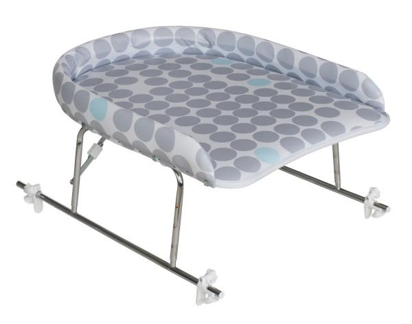 Höhenverstellbarer Wickelaufsatz für Badewanne