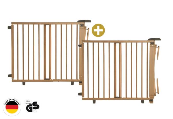 PREMIUM SET: Tür- und Treppenschutzgitter