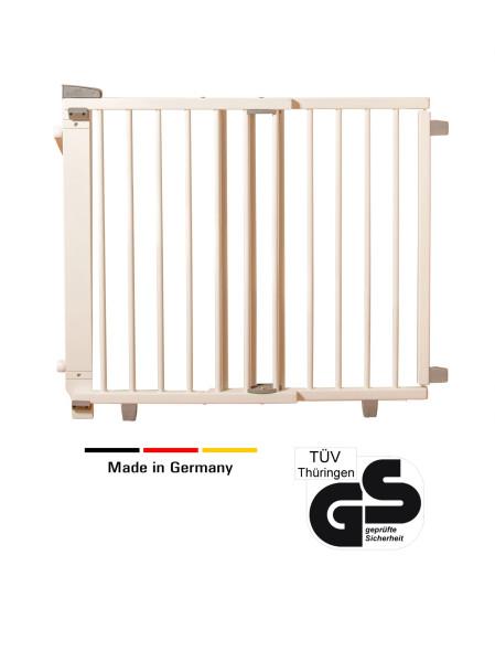 Schwenk- Treppenschutzgitter aus Holz