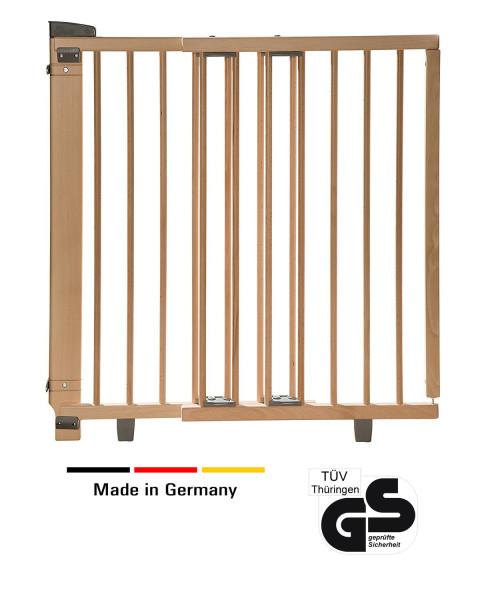 Schwenk- Türschutzgitter aus Holz